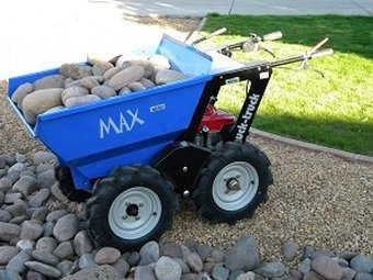 muck truck max dumper for moving building materials
