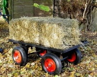 hand pull trolley with bale