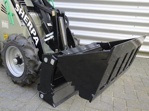 4 in 1 bucket attachment for mini skid steer