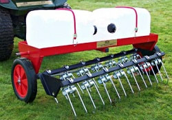 heavy duty dethatcher attachment for 40 inch lawn care system