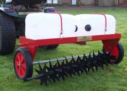 heavy duty slitter attachment for 40 inch lawn care system