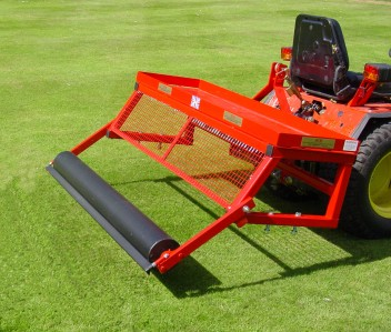 mounted frame for 60 inch lawn care system