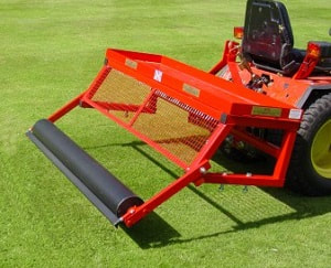 mounted frame for 60 inch lawn care equipment