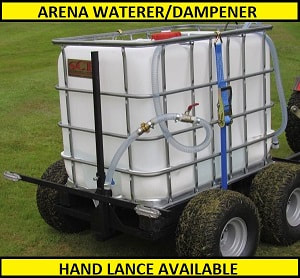 arena dampener available with hand lance