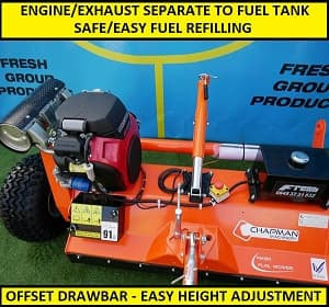 ATV Flail Mower Videos and Images - Fresh Group Products