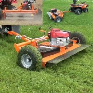 chapman atv flail mower to go behind a quad bike