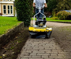 Westermann block paving cleaner weed ripper