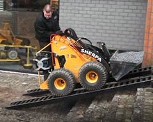 drive on ramps for mini skid steer