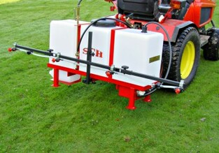 compact tractor mounted sprayer 125 litres