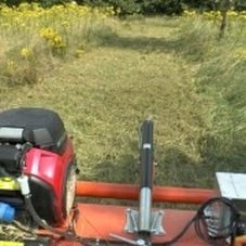 atv flail mower for cutting ragwort