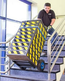 Powered Stair Climbers for moving equipment on stairs - Fresh Group