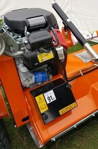 honda engine for the flail mower