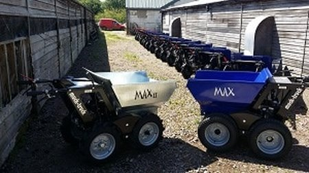 muck truck max dumpers for sale