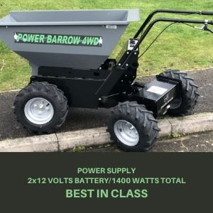 mini dumper with long lasting battery