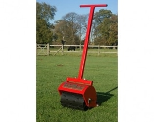 hand operated field roller 12 inch
