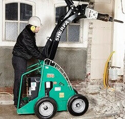 mini skid steer ECO for building work