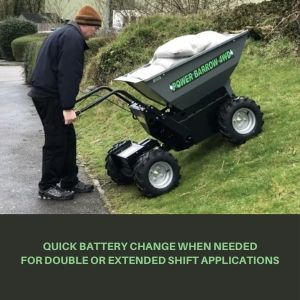 mini dumper with extra battery life