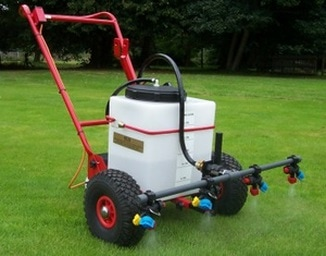 lawn and paddock sprayer with multi nozzles