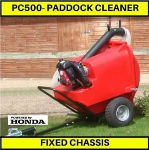 PC500 paddock cleaner