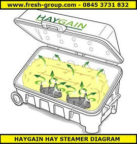 diagram of hay steamer