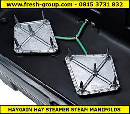 unique hay steamer manifold system