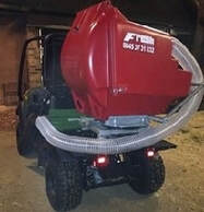 paddock cleaner mounted