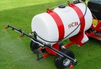 towable quad bike sprayer 180 litres
