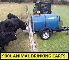 drinking cart with 900L capacity