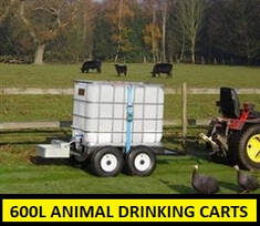 600L animal drinking cart