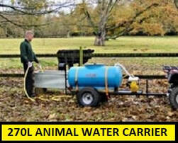 animal water carrier 270L capacity