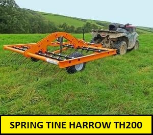 spring tine harrow th200