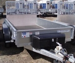 tool box mounted on trailer